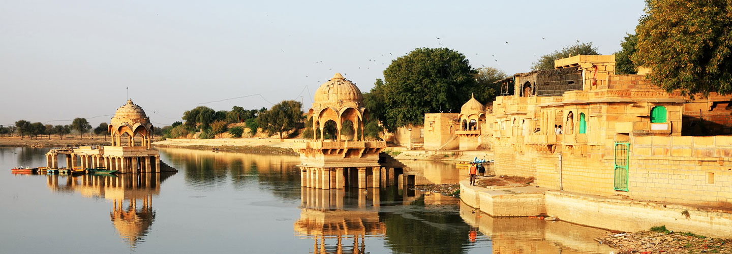 Gadisagar Lake in Jaisalmer