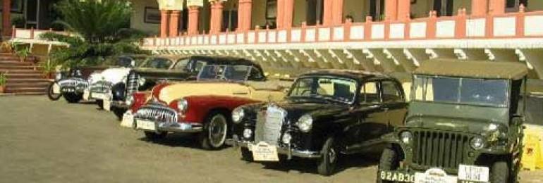 Vintage Car Rally in Rajasthan