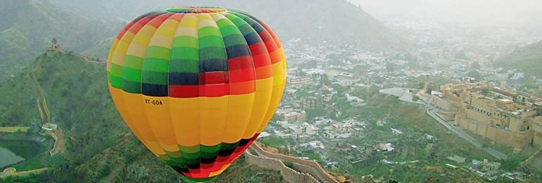 Hot Air Balloon Ride in Rajasthan