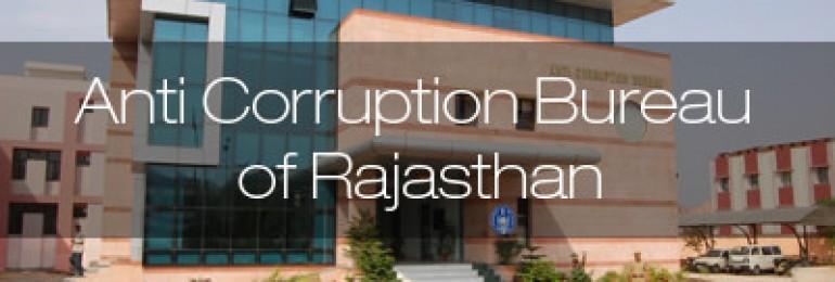Anti Corruption Bureau of Rajasthan