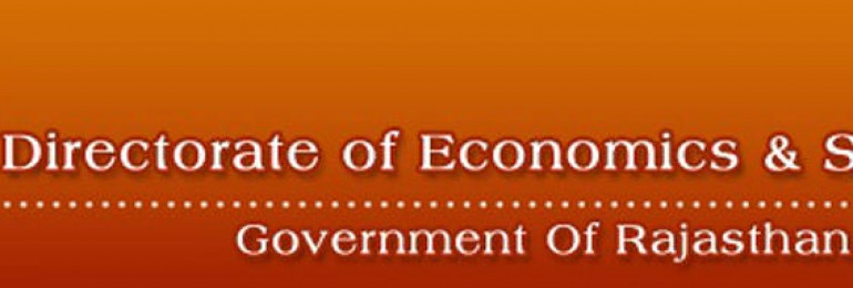 Directorate of Economics and Statistics, Rajasthan