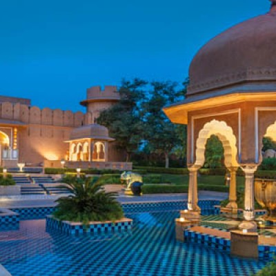 The Oberoi Rajvilas Hotel