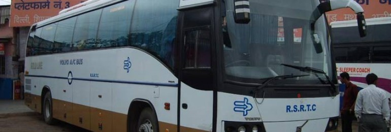 Buses From Delhi to Jaipur