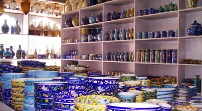 Blue Pottery of Jaipur