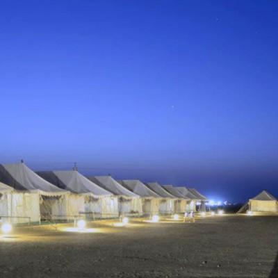 Vintage Desert Camp