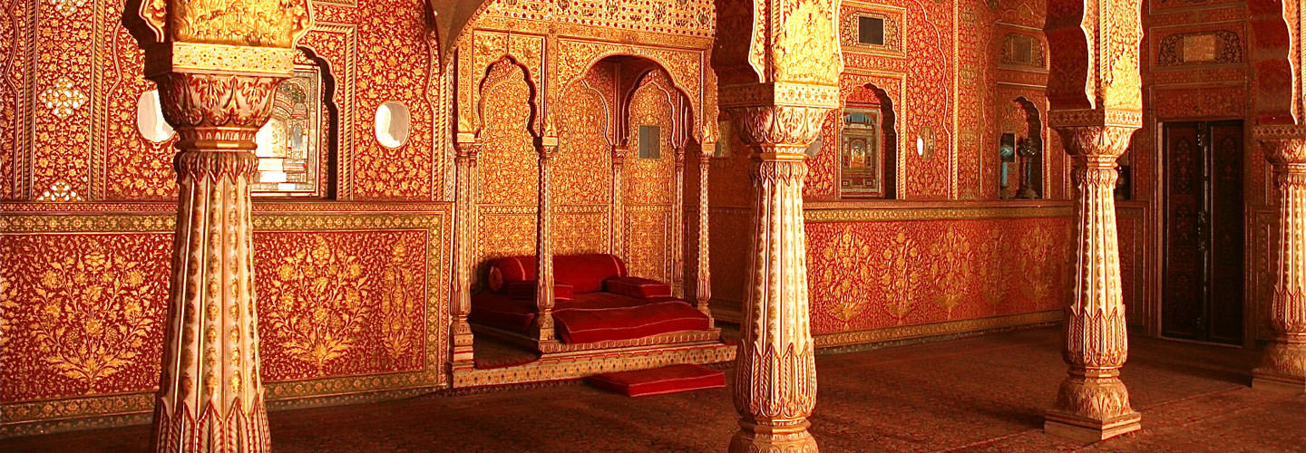 Anup-Mahal-in-Junagarh-Fort