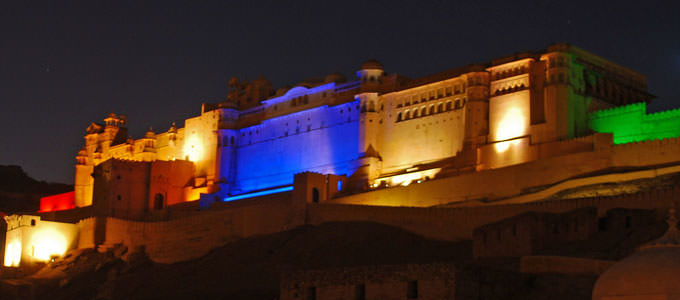 Amer Fort Light and Sound show