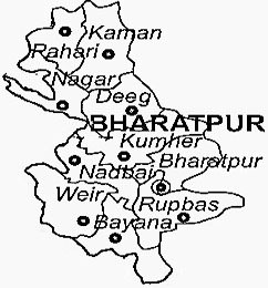 Bharatpur District Map
