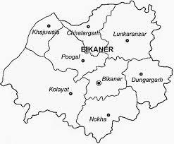Bikaner Map