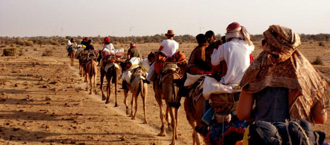 Desert Safari in Rajasthan