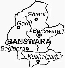 District Map Of Banswara