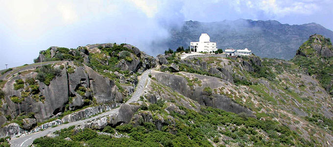 Observatory at Mount Abu, Rajastan
