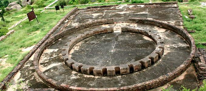 Remnants of Stupa at Viratnagar
