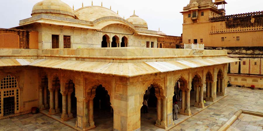 Sheesh Mahal in Amer Fort