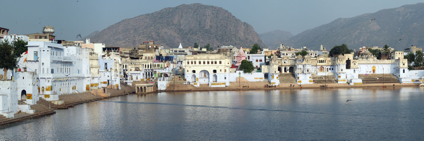 Pushkar Ghats in Rajasthan