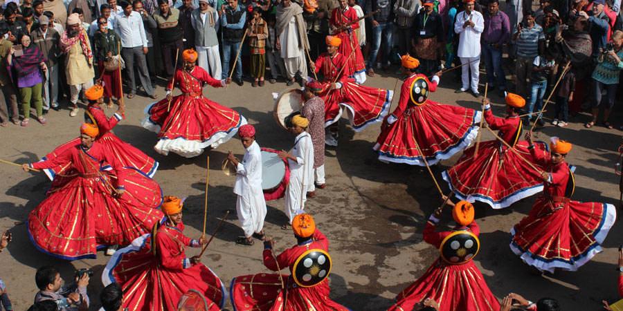 Gair Dance Rajasthan