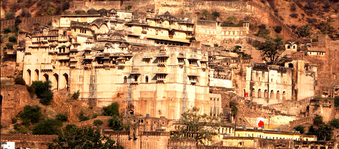 Bundi Palace and Taragarh Fort