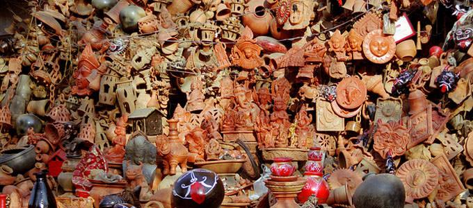 Pottery Stall, Jaipur