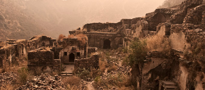 Bhangarh fort ruins, alwar