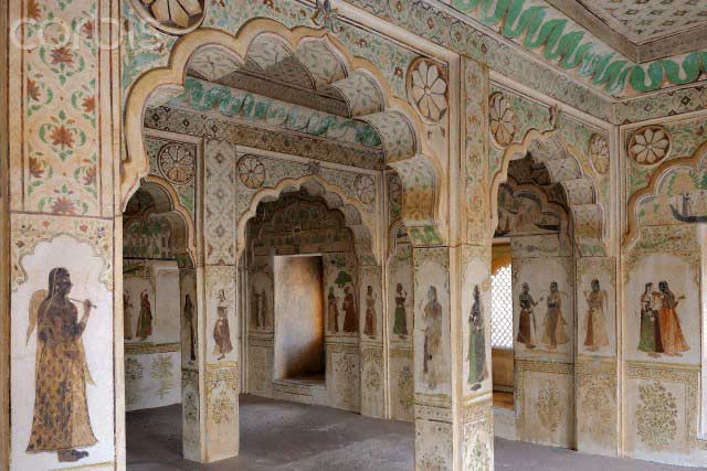 India, Rajasthan, Nagaur fort, Hadi Rani Mahal
