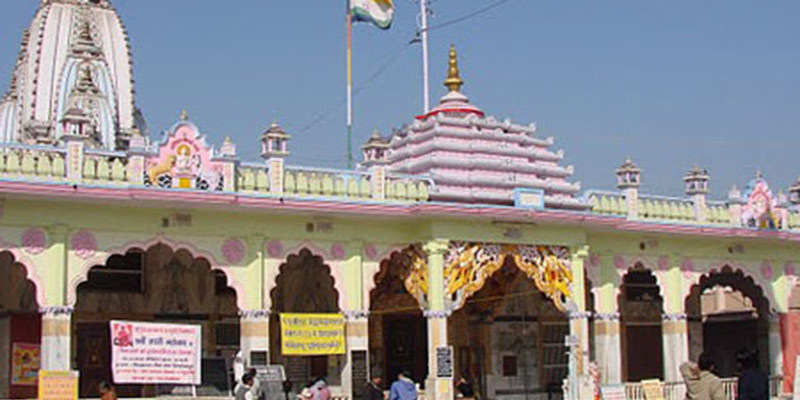 Jain Glass Temple in Nagaur