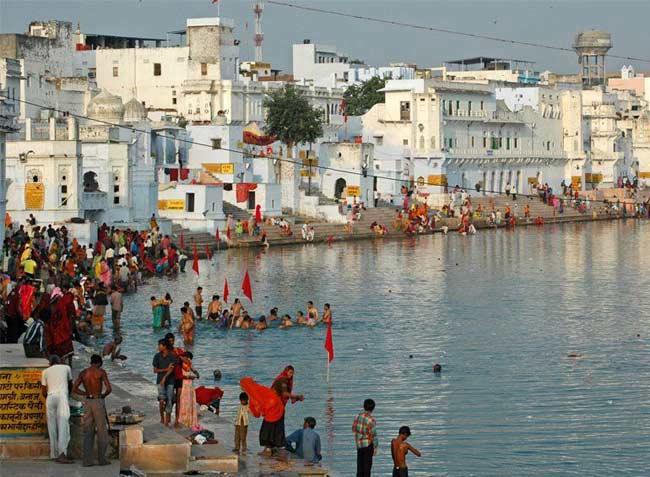Pushkar Lake Rajasthan Pushkar Lake History Temples
