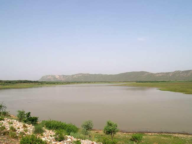 Ramgarh Lake, Jaipur