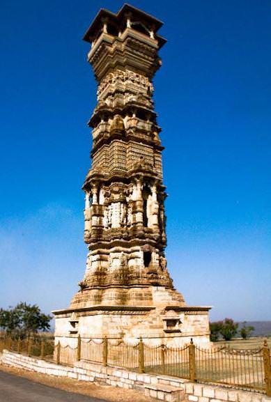 Tower of Fame (Kirti Stambh), Chittorgarh
