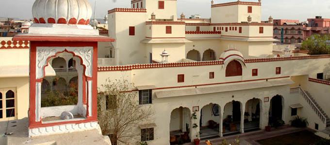 Hotel Mandawa Haveli Jaipur