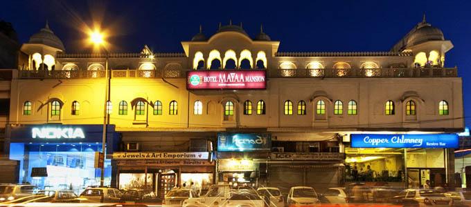 Hotel Mayaa Mansion jaipur