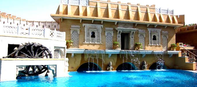 Pool at Ajit Bhawan