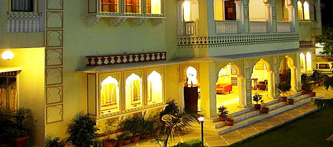 Hotel Krishna Palace in Jaipur