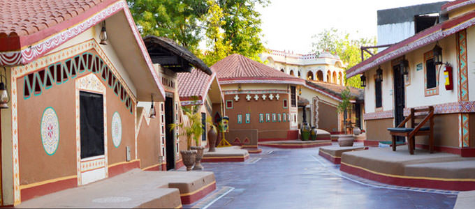 Chokhi Dhani Resort in Jaipur
