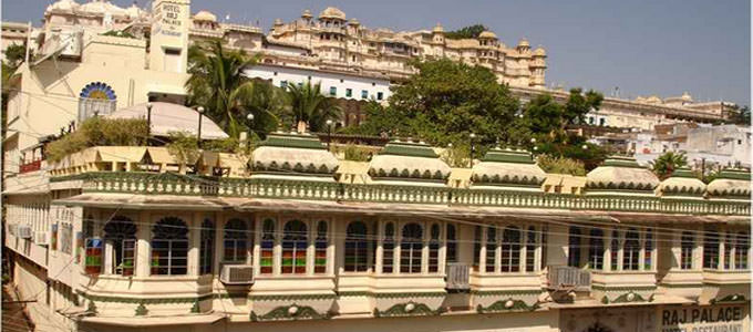 Hotel Raj Palace in Udaipur