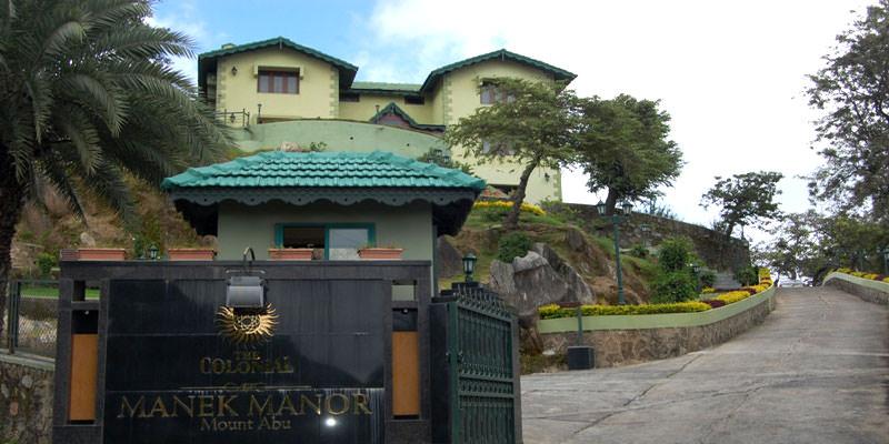 Hotel The Colonial Manek Manor Mount Abu Luxury Heritage