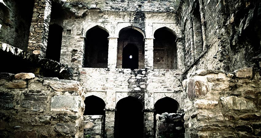 Ruins of Haunted Fort of Bhangarh